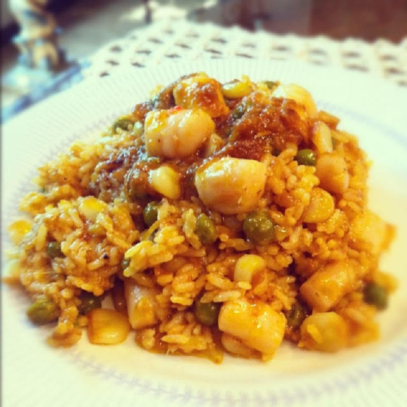 Arroz con Ostiones